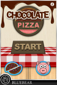 chocolate pizza app