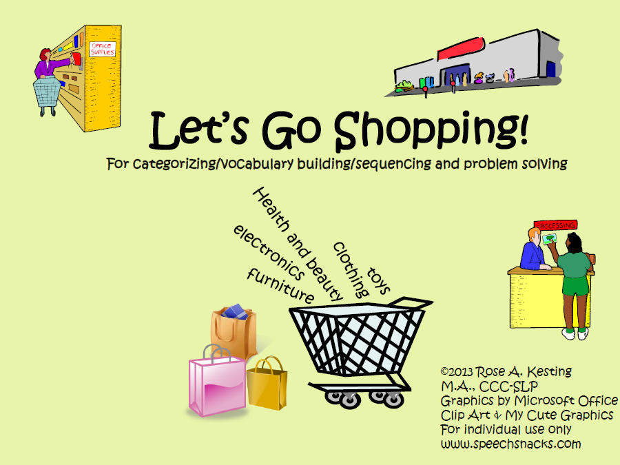 Cooking Up Good Speech Page 26 – Grocery Words