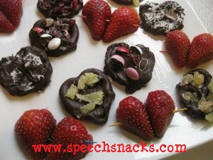 choc covered hearts