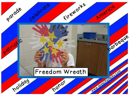 freedom wreath