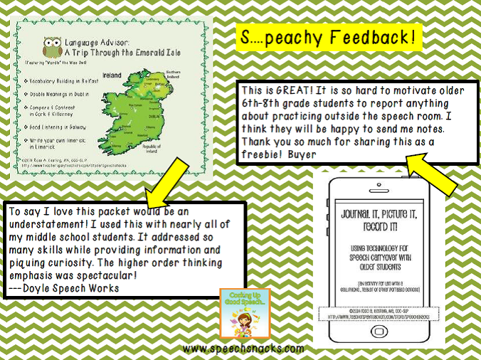speachy feedback may