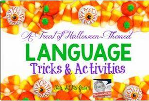 Halloween linky frenzied slps