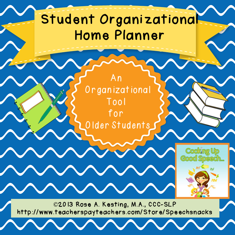 cover page student planner
